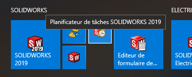 planificateur solidworks