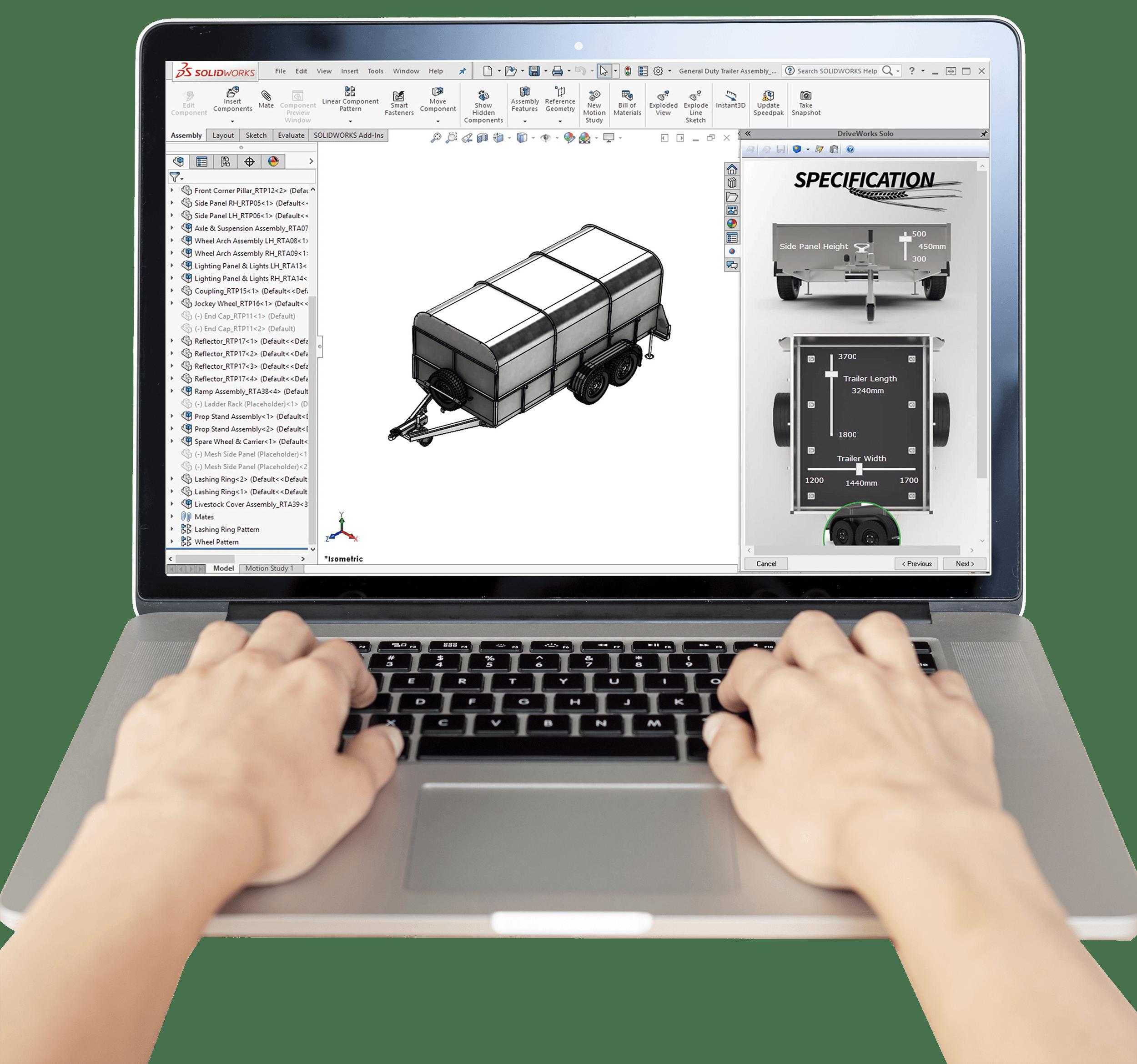 Programme d'évaluation DriveWorks