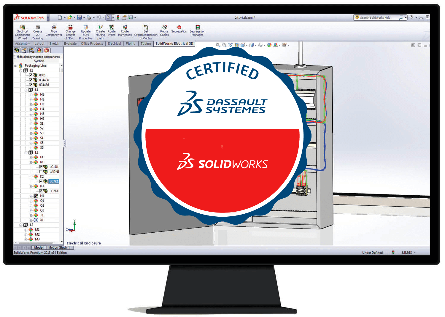 formation solidworks electrical