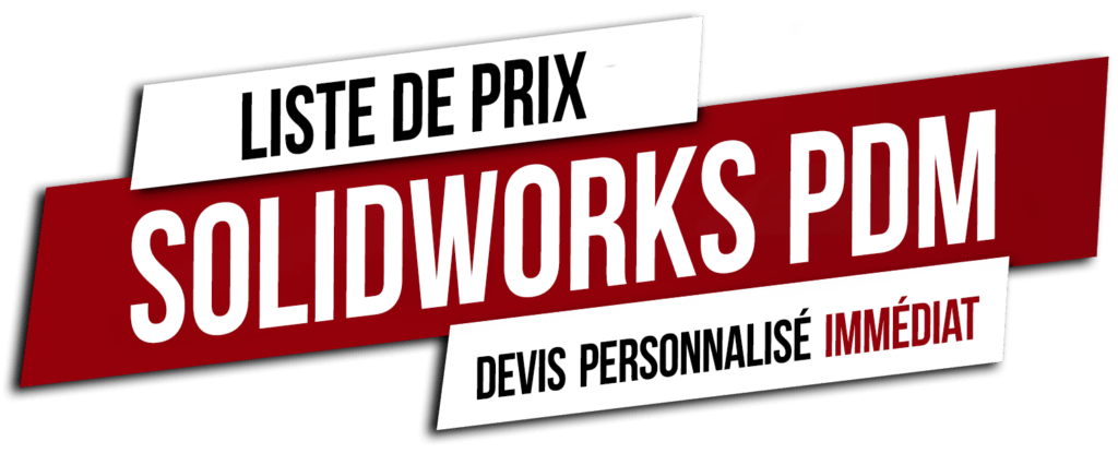 liste prix solidworks pdm