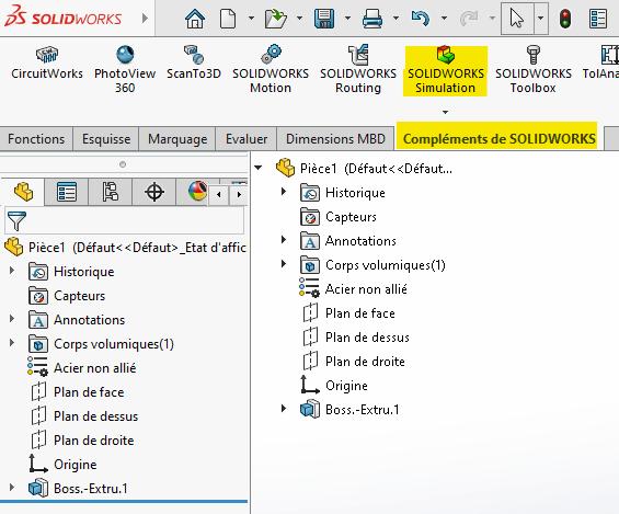 solidworks simulation complement