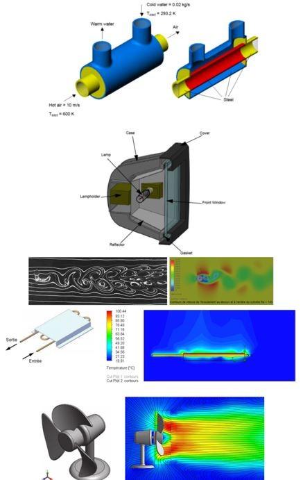 caracteristiques physiques flow simulation